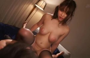 Rena Momozono, gets a sloppy facial..
