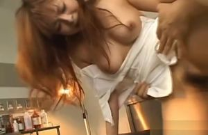 Jaw-dropping Asian Nurse Gets Dollar..