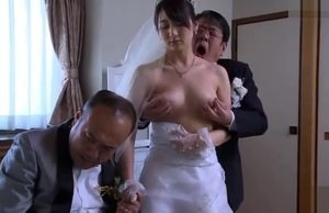 Asian Wifey Get Disrobed Clothes By..