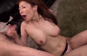 Pleasuring breasty japanese mommy Hina..