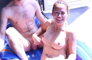 AsianSunshine and her guy fucktoy