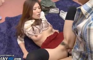 Asian adult starlet gets  by..