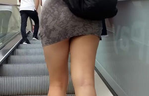 Public Fledgling Buxomy Transsexual..