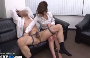 Asian rude office dame luvs  fuck-a-thon