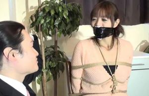 Chinese ball-gagged interview