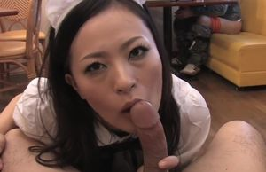 Mai Mizusawa is a torrid waitress who..
