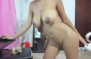 Latina rails a  on web cam