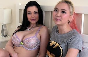 Aletta Ocean has girly-girl fuck-fest..