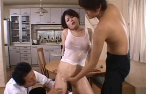 Bare Miki Sato Gets Enormous Bone As A..