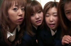 4 asian students contest for red-hot..