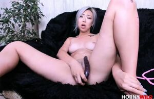 Tasty Chinese Fledgling Blasts On Her..