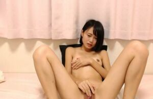 Sweetheart Asian Woman Getting off..