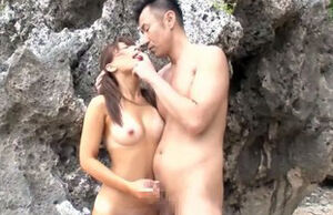 Asian bombshell chooses frolicking..