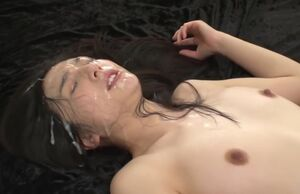 Steaming chinese mass ejaculation..